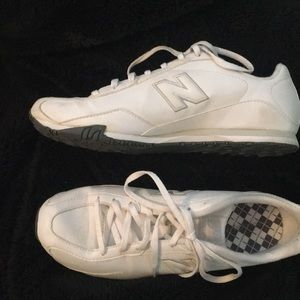 White New Balance Tennis Shoes